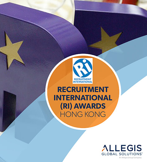 Customized Blocked Letters  - For Recruitment International Awards - Hong Kong