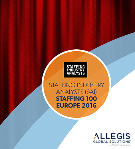 Drawn Red Curtain - For Staffing Industry Analysts (SAI) Staffing 100 Europe 2016
