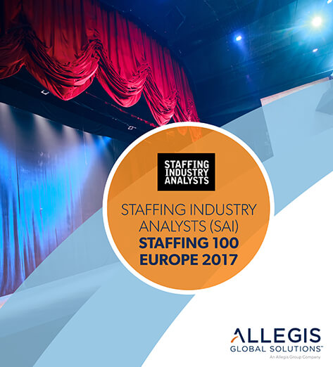 Raised Curtains on a Stage - For Staffing industry Analysts (SAI) Staffing 100 Europe 2017
