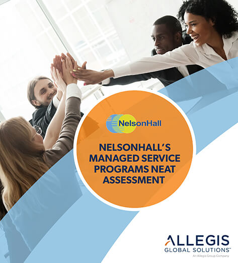 Group High Five - For Nelson Hall's Managed Service Programs Neat Assessment.