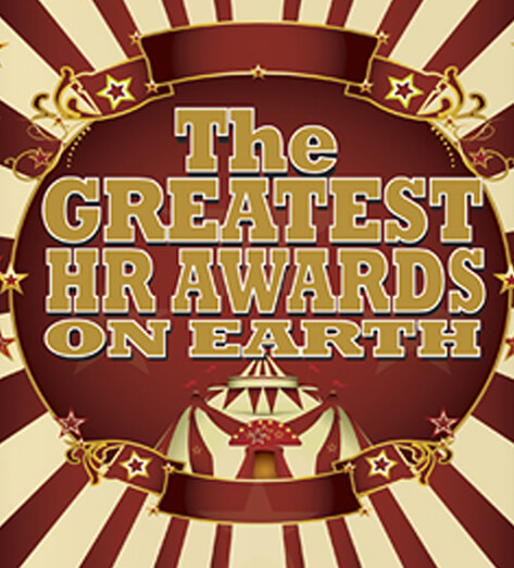 Circus Themed Banner - For The Greatest HR Awards on Earth.