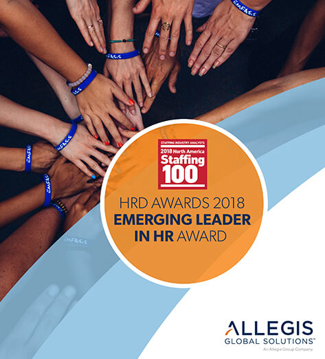All-Hands-In a Group Circle - For HRD Awards 2018 Emerging Leader in HR Award