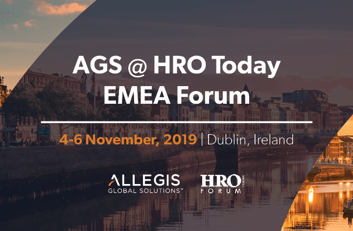 2019 HRO Today EMEA Forum