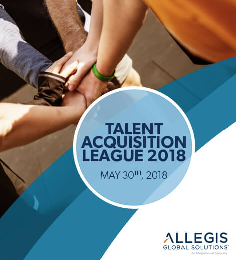 All-in, Group Handshake - For Talent Acquisition League 2018