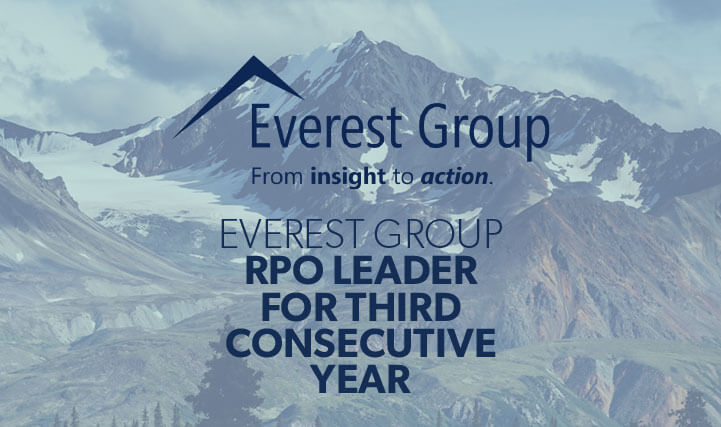 Snow Capped Mountain Peaks - Everest Group RPO Leader For Third Consecutive Year.