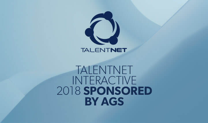 TalentNet Interactive 2018 Sponsored by AGS