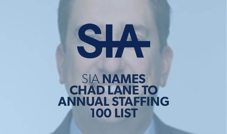A Smiling Professional Man - For SIA Names Chad Lane To Annual Staffing 100 List