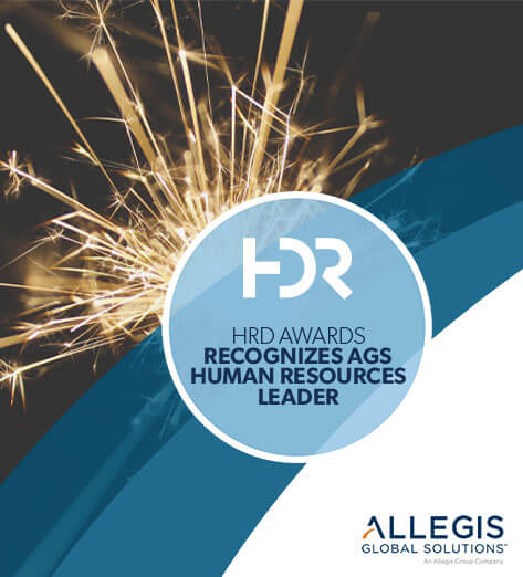 Sparkling Firework - For HDR Awards Recognizes AGS Human Resources Leader.
