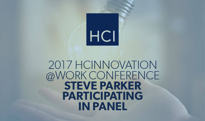 Light Bulb - 2017 HCI Innovation at Work Conference Steve Parker Participating in Panel.