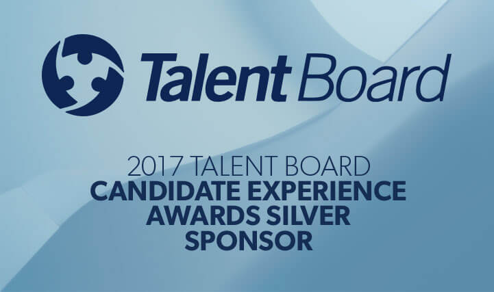 Talent Board - 2017 Talent Board Candidate Experience Awards Silver Sponsor.