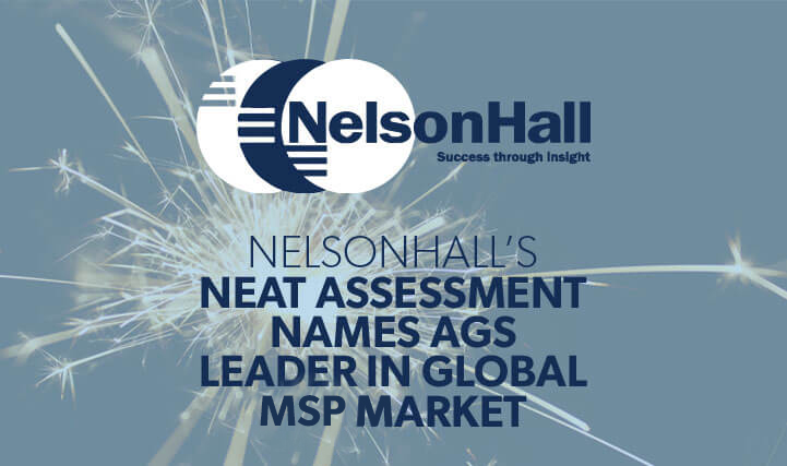 Nelson Hall's Neat Assessment Names AGS Leader in Global RPO Market.