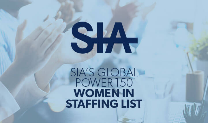 Hands Clapping - For SIA's Global Power 150 Women In Staffing List