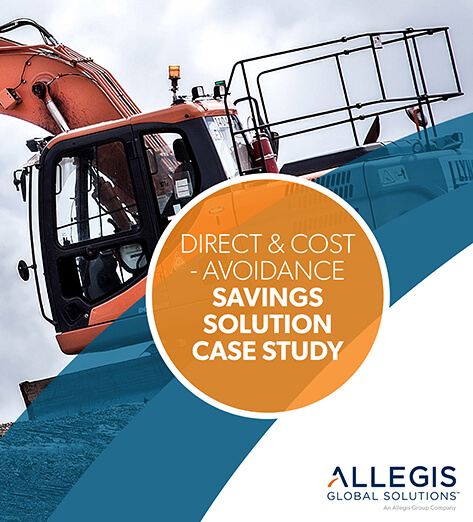 Pale Rusted Crane - For Direct & Cost Avoidance: Savings Solutions Case Study