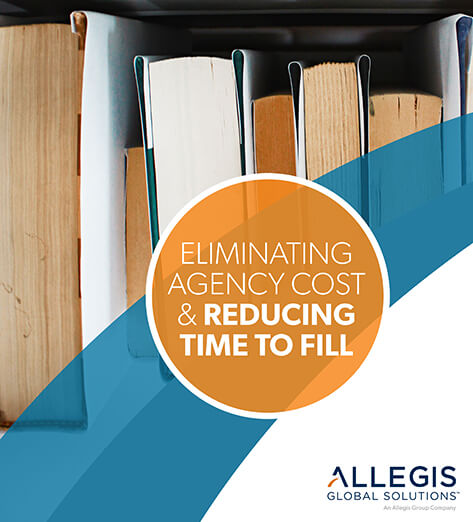 Close-up of 7 Books on a Shelf - For Eliminating Agency Costs & Reducing Time To Fill